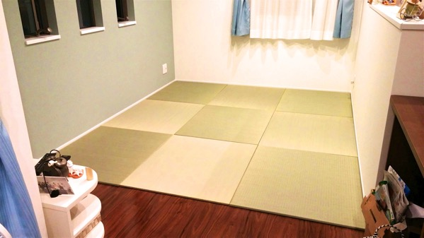 畳をフローリングに敷く