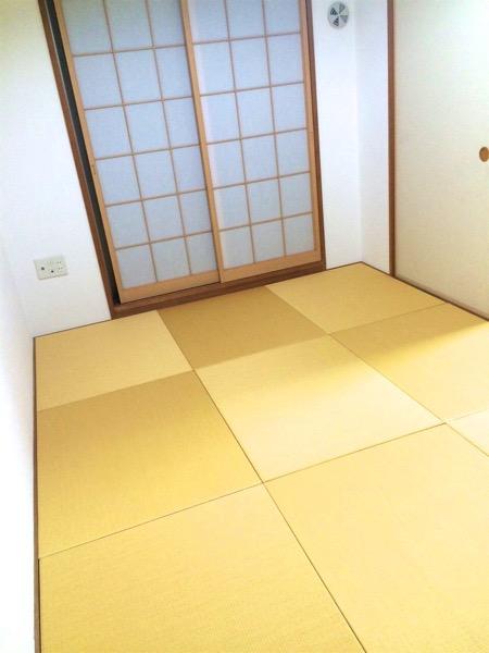 黄金色の畳
