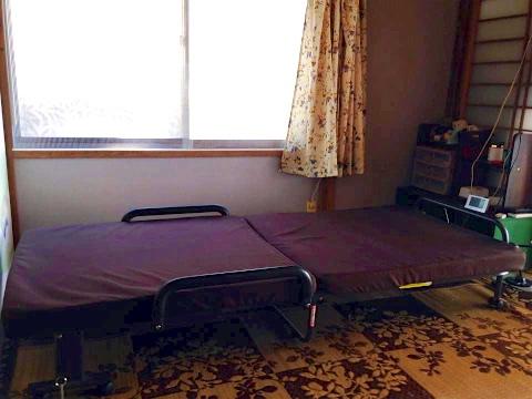 畳の無いベッド