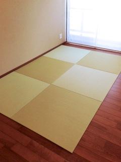 床暖房フローリングの部屋用の畳