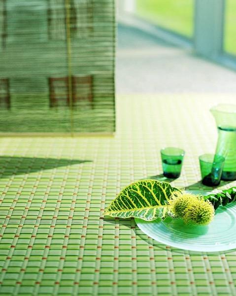 新緑の似合うリビング