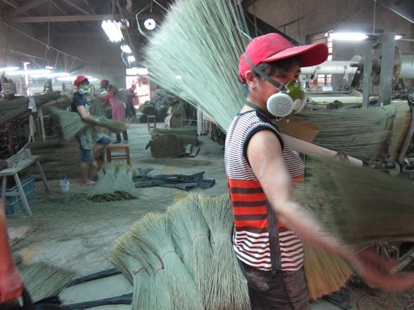 中国畳表工場