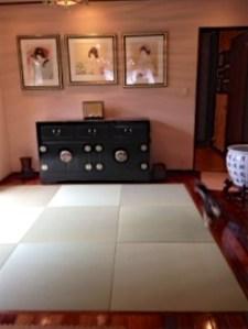 洋室にも違和感なく畳が敷けます
