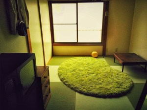 昭和の雰囲気漂うアパートに琉球畳【レトロモダン】
