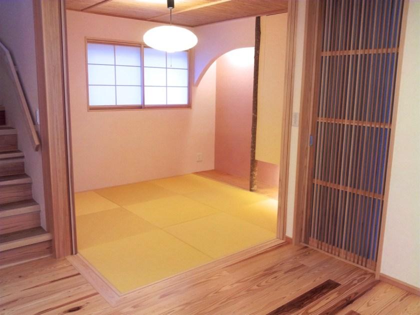 床暖房の和室