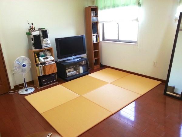 畳の色をコーディネート