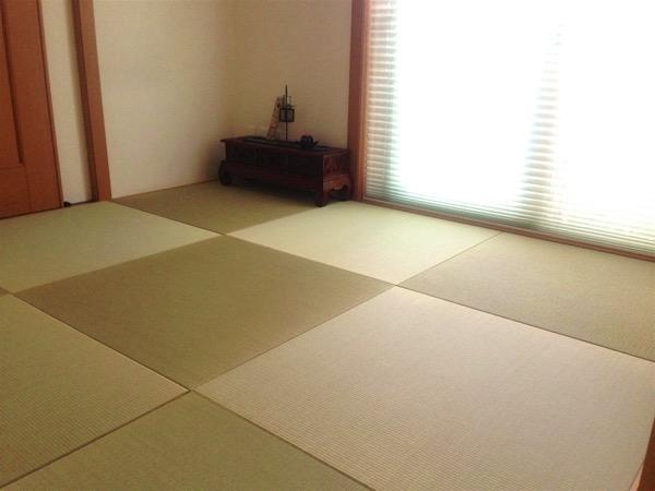 鍼灸院の畳部屋