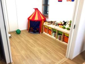 子ども部屋に畳を敷くと・・