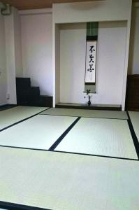 フローリングに敷いて簡易な茶室を作りたい