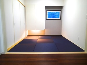 かっこいいモダンな和室。畳の進化がインテリアデザインを変える
