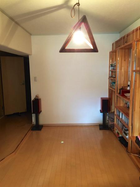 フローリングの部屋