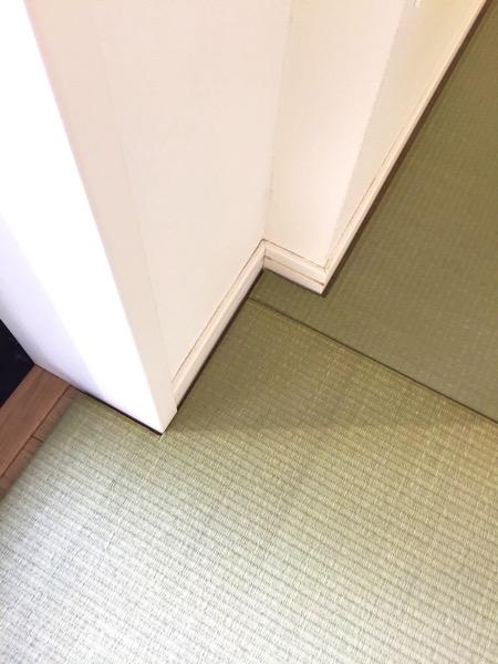 畳の柱加工