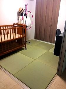 赤ちゃんが産まれるのでパズルマットを敷くか、畳にするか迷った。結果どっちが良かった?