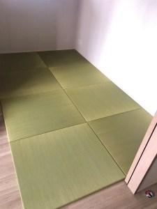 イ草の香りで癒される畳コーナーの作り方