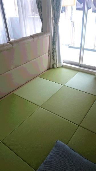 清流 銀白色の置き畳