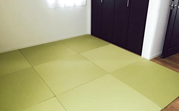 床暖房フローリングに置き畳