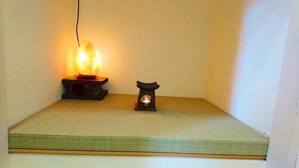 畳で和風を演出