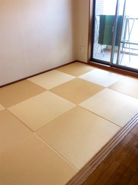 琉球畳の部屋