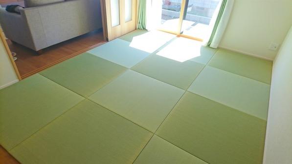 DIYで敷くサイズオーダー畳
