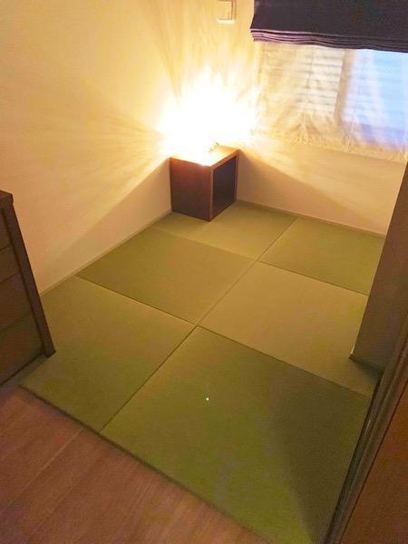 雰囲気の良い畳の部屋