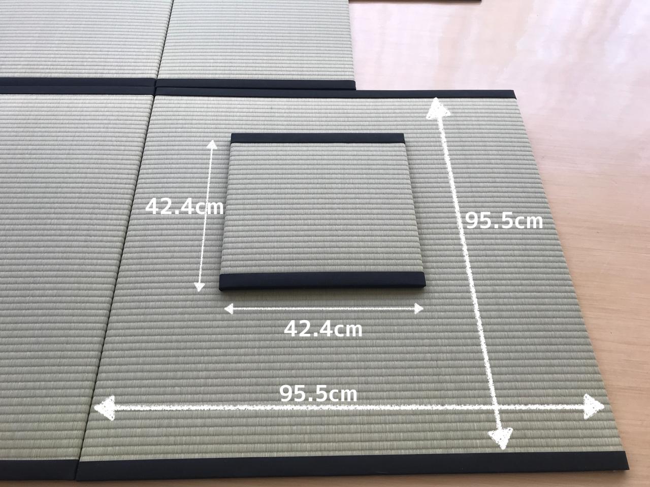 茶道用置き畳のサイズ