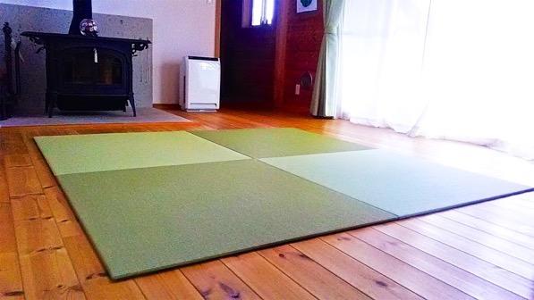 別荘に敷く畳