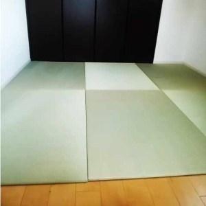 部屋の広さにピッタリの畳をサイズオーダー、はじめてでも簡単です。