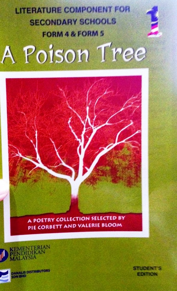 ANTHOLOGY  A POISON TREE  POEM 1  THE LIVING PHOTOGRAPH