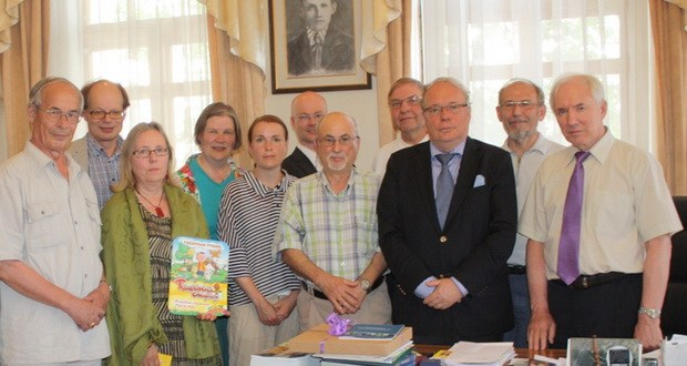 Meeting with Finish theologians took place in Executive committee of the World Congress of Tatars