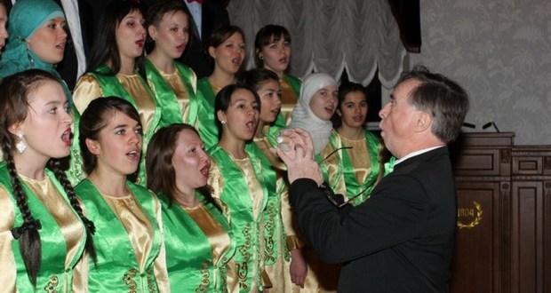 Университетның татар хорына ясин чыктыкмы?