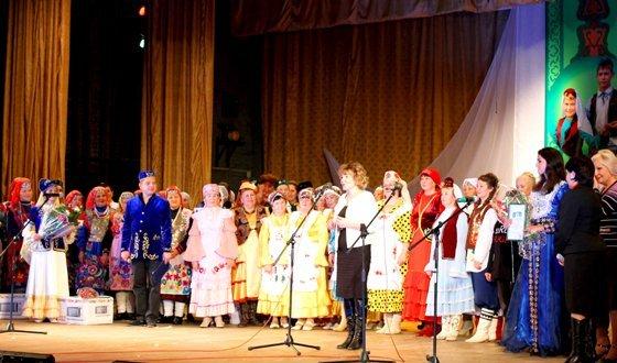 Первый Фестиваль народного творчества татар