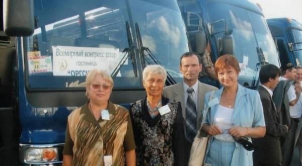 Пушкино шәһәреннән килгән татарлар: Казанда сулавы да рәхәт!