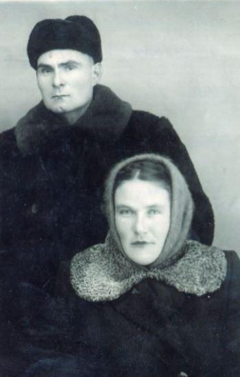 Родители Флоры Вафиной. Поселок Новостройка.