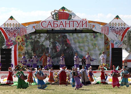Sabantui as a masterpiece of intangible heritage benefits all mankind…