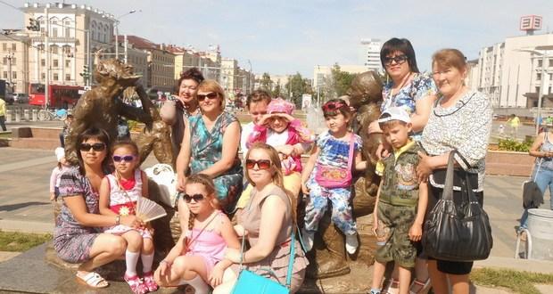 Башкалабыз Казан буйлап иң кадерле кунакларыбыз сәяхәт итте