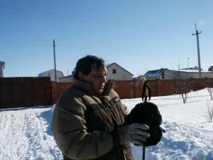 Үзбәкстаннан кайтучылар чаңгыда  шуу сабаклары ала