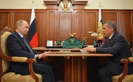 Decree on Acting President of Tatarstan signed