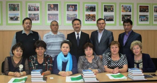 Пермь краеның Барда районыннан килгән мәктәп директорлары белән очрашу узды