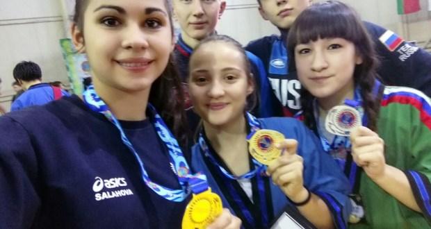 Aksubaevsky athlete became world champion on belt wrestling