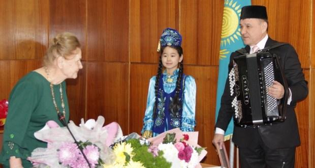 Большой юбилей казахстанки Рашиды Хасановой