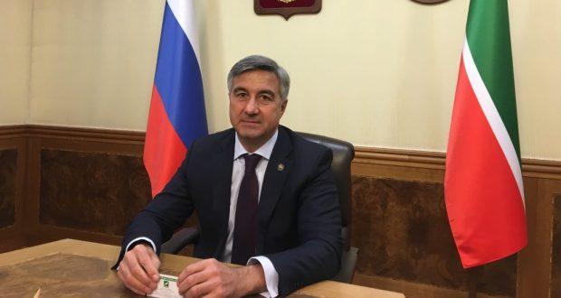 Васил Шәйхразиев эшлекле сәфәр белән Казахстан Республикасына барачак
