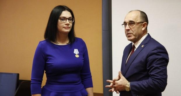 Elvira Balyayeva was awarded with a high mark