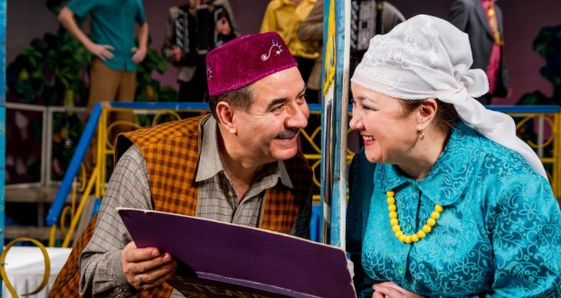 """Theater Tinchurin will present in Izhevsk the play """"Grooms"""""""