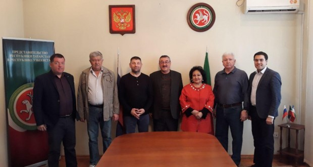 Representation of the Republic of Tatarstan in the Republic of Uzbekistan received guests from the Republic of Tatarstan