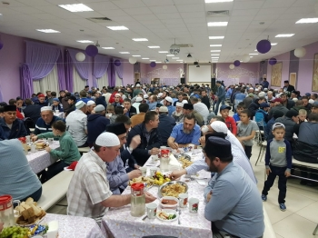 В Пензенском селе торжественно открыта реконструированная часть мечети «Абу Ханифа»