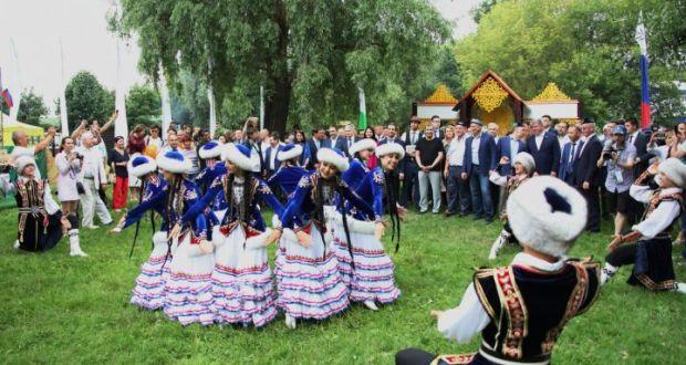 Мәскәү Сабан туена 250 меңнән артык кунак килгән
