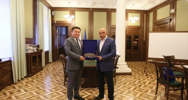 К(П)ФУ и Самаркандский институт разрабатывают программу  «двойных дипломов»