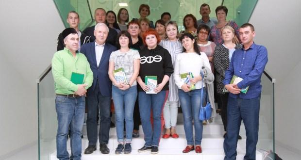 Ринат Закиров Башкортстан татарлары белән очрашты