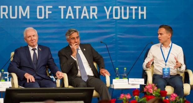 ФОТОРЕПОРТАЖ: пленарное заседание VIII Всемирного Форума татарской молодежи