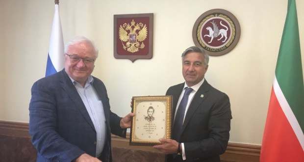 Chairman of the National Council met with Rashid Sunyaev